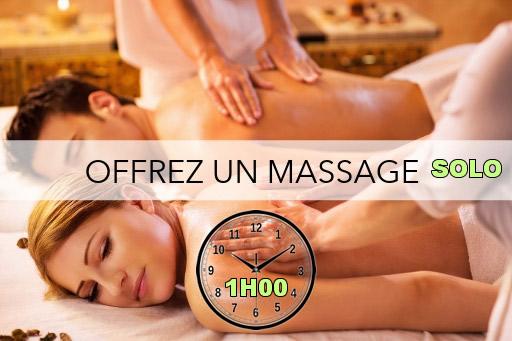 Bon cadeau - Massage Solo 1H00